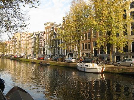 Amsterdam - Canais, bicicletas e arquitetura